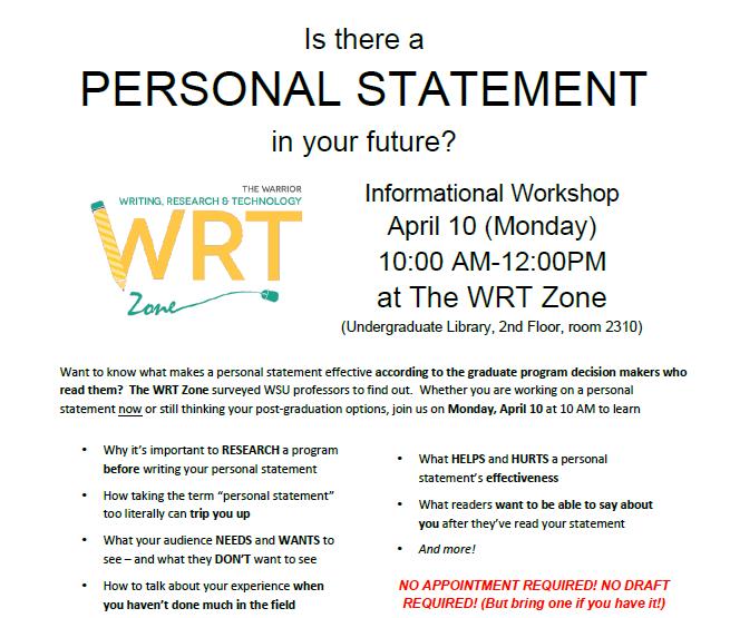 personal statement writing workshop Uc personal statement workshop what does uc look for in personal statements writing the uc transfer essay personal statement information.